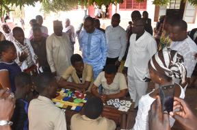 Visite dune delegation ministerielle dans les Centres Jeunes Amour & Vie 5