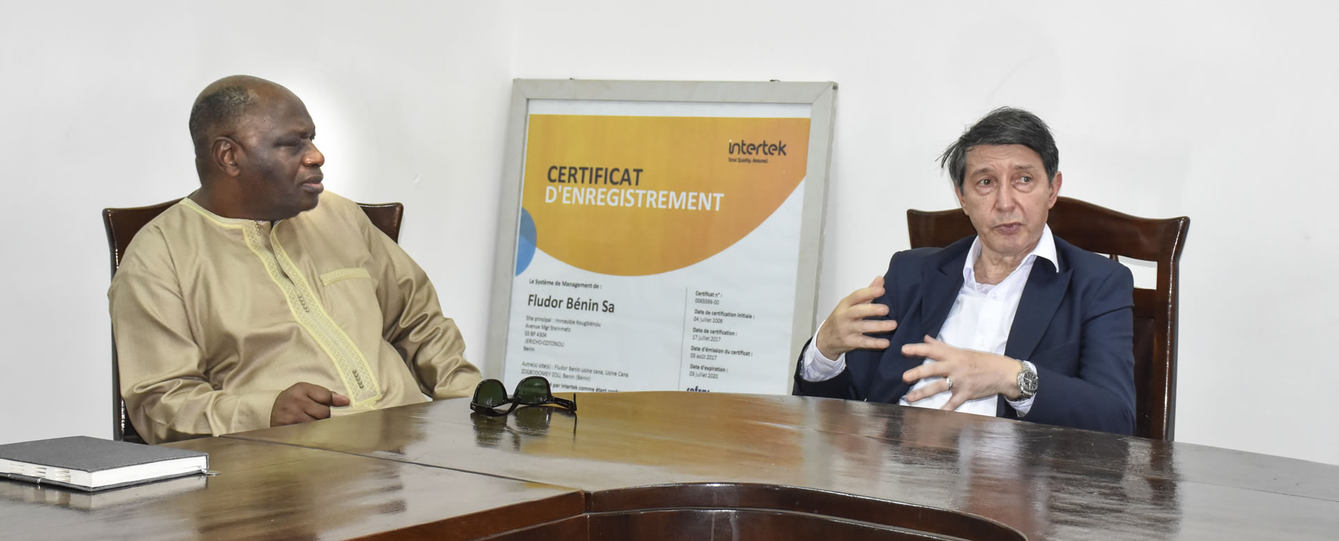 ABMS / FLUDOR Bénin SA UN PARTENARIAT GAGNANT GAGNANT POUR LA SANTÉ DE PLUS DE 1.500 OUVRIERS