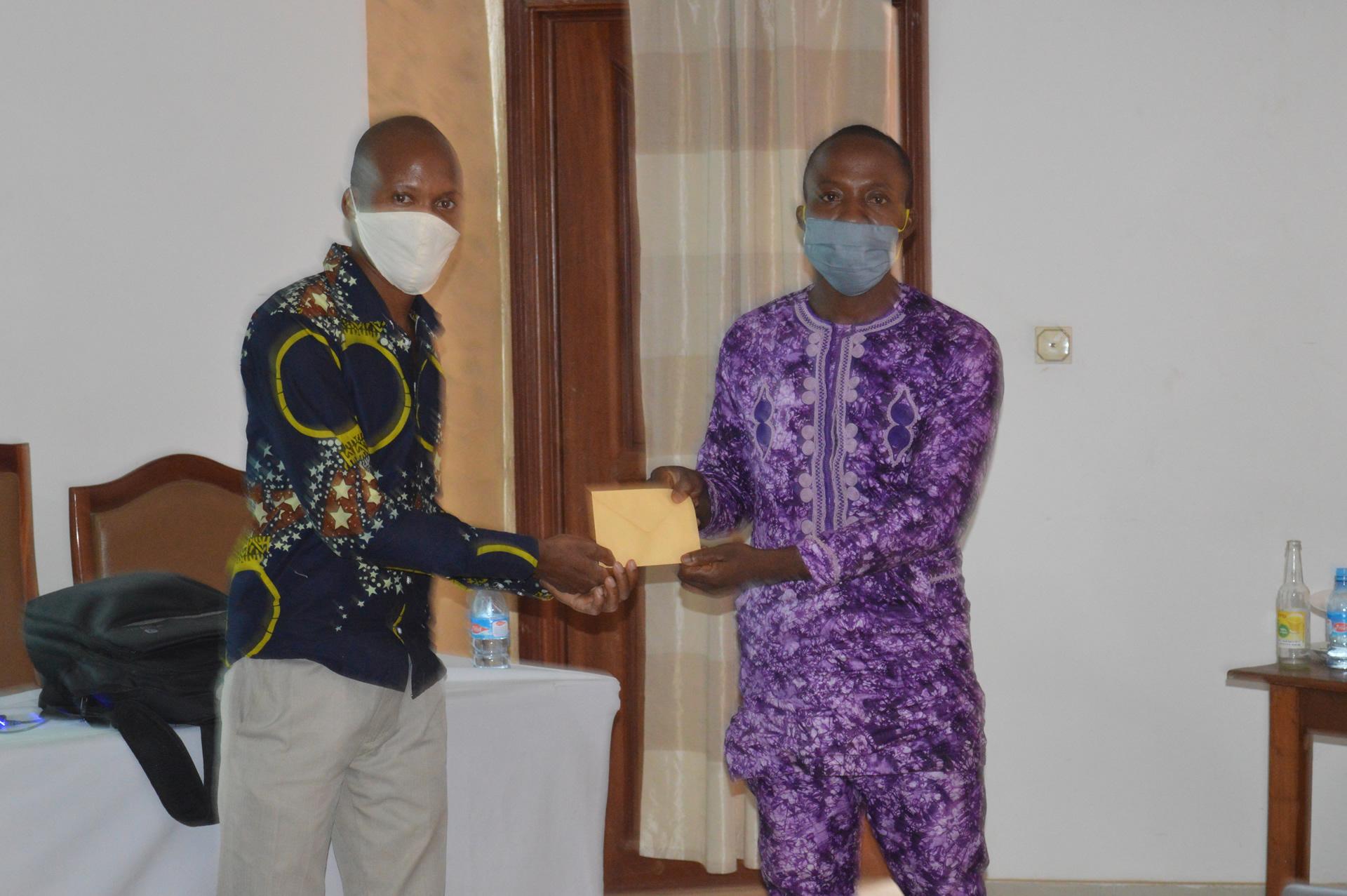 Sanitation Service Delivery : Des artisans partenaires performants récompensés pour la qualité de leurs produits à l'issue d'une supervision évaluative