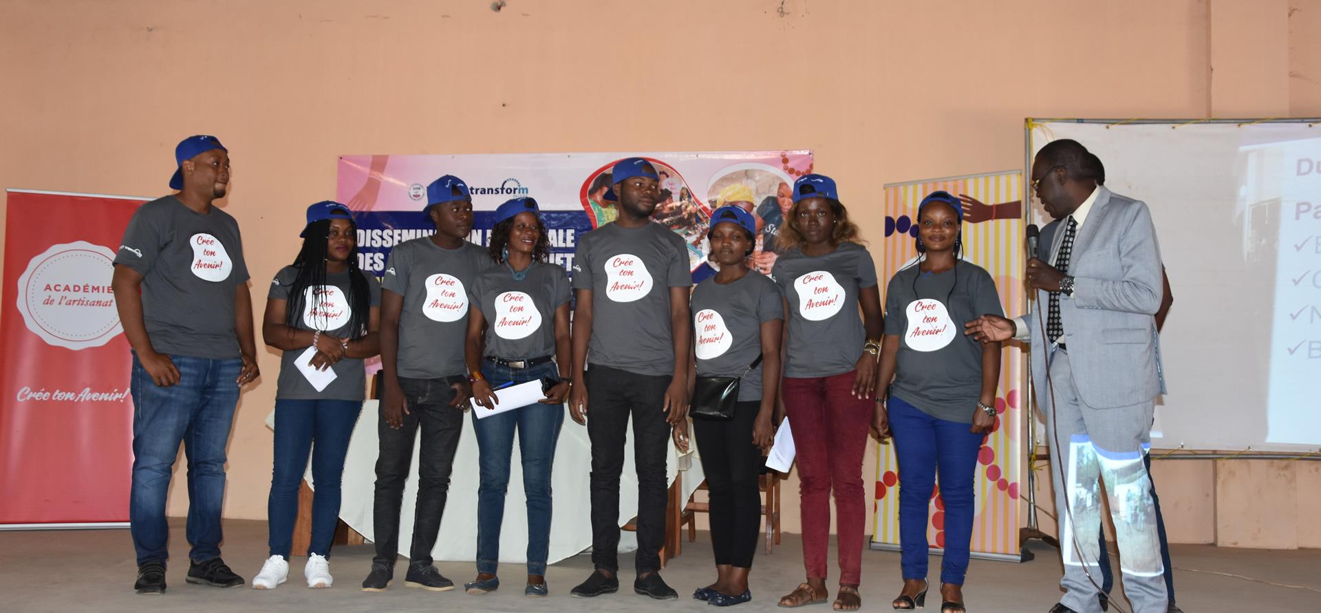 Académie de l'artisanat: modèle d'autonomisation pour améliorer la santé sexuelle des adolescentes et des jeunes filles au Bénin